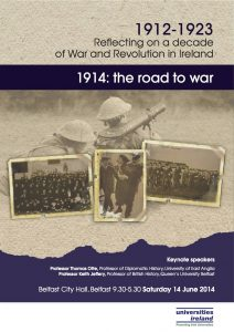 Programme The road to war copy