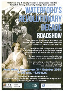 Waterford Revolutionary Roadshow Poster copy