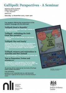 NLI Gallipoli Seminar Sat 14 Nov copy