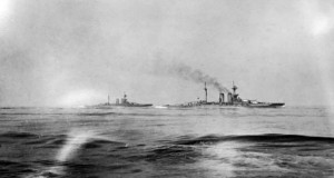 HMS_Warspite_and_HMS_Malaya_during_the_battle_of_Jutland