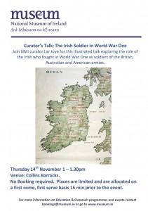 Curators Talk - The Irish Soldier in WW1 copy