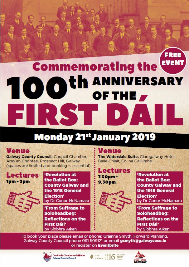 21 January 2019: 'Commemorating the 100th anniversary of the