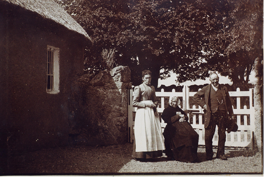 Offaly image Mahon family Lady Well, Mountbolus, Tullamore, August 1...